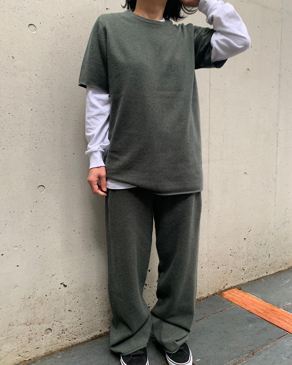 UPCYCLE ロングTシャツ 白の写真