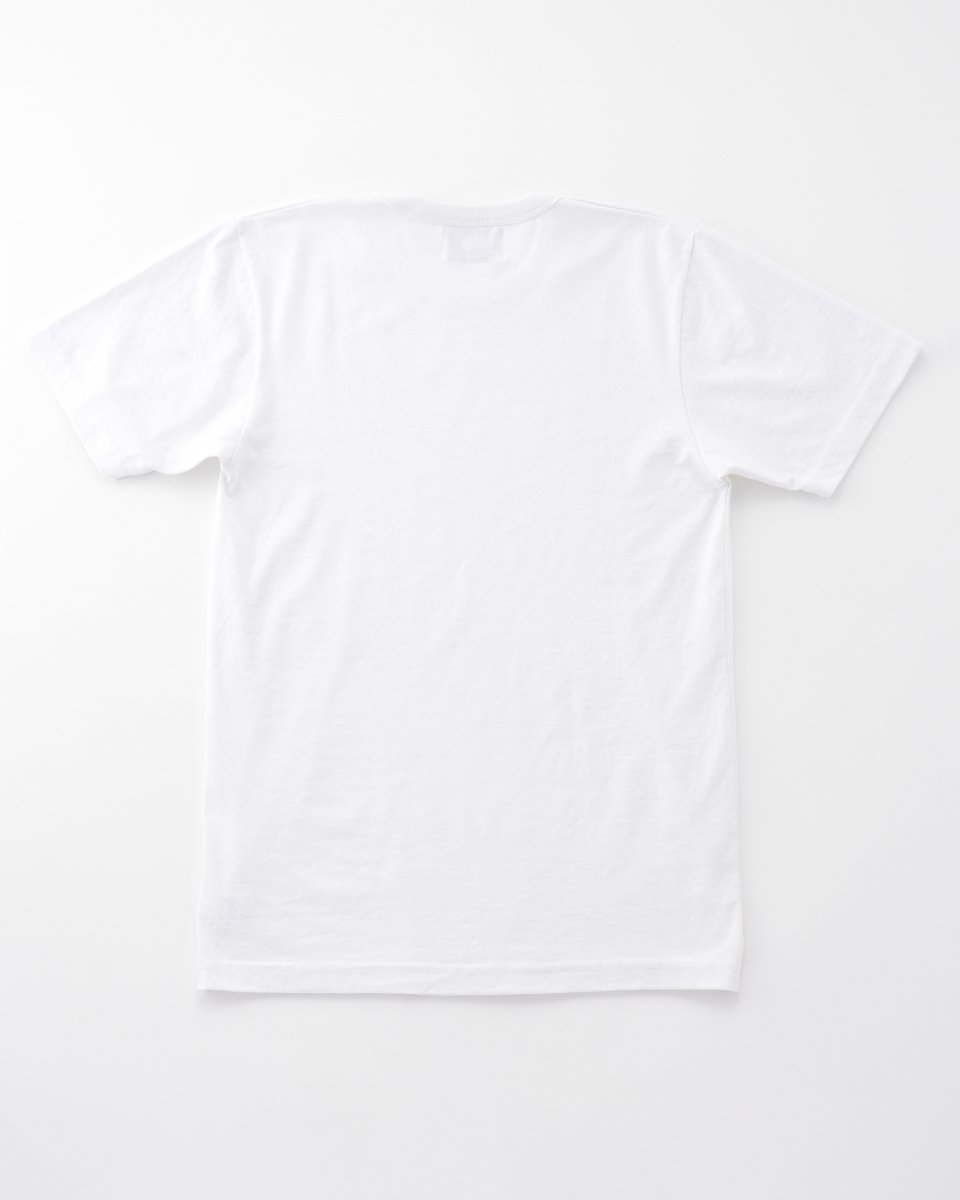 UPCYCLE Tシャツ 白 の写真
