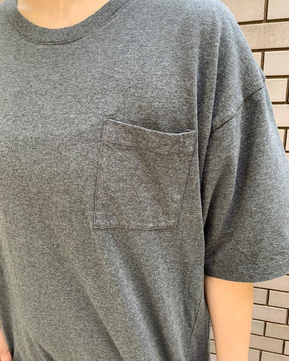 WRYHT オーバーサイズ Tシャツドレス チャコールグレーの写真
