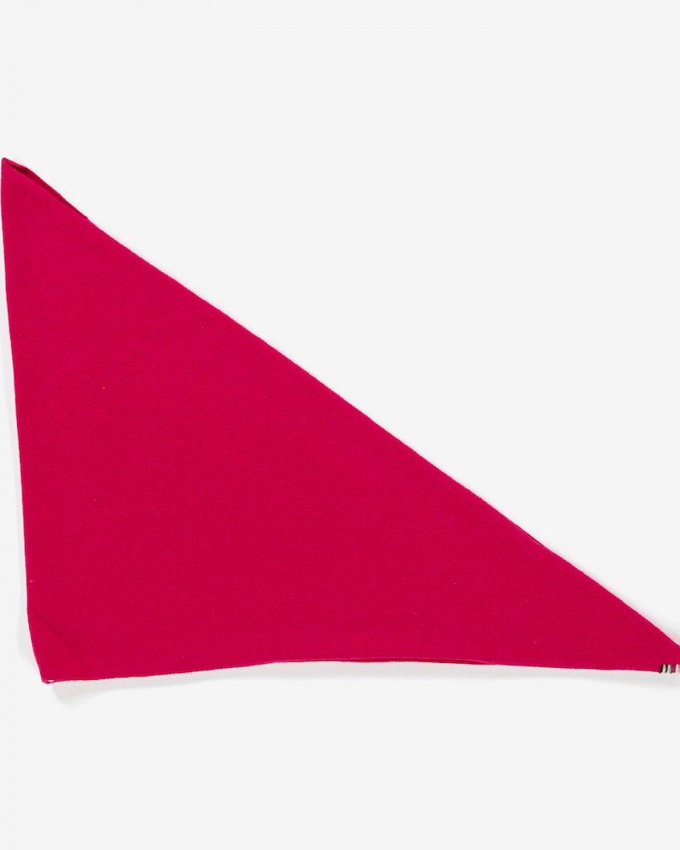 カシミアバンダナ ピンクの写真