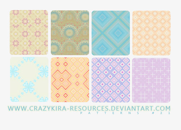 Patterns .31 by crazykira-resources