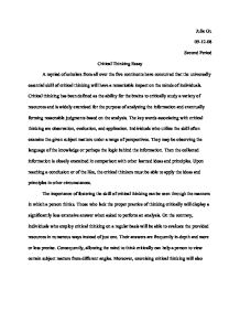 critical thinking essay examples docoments ojazlink critical thinking essay example related essays