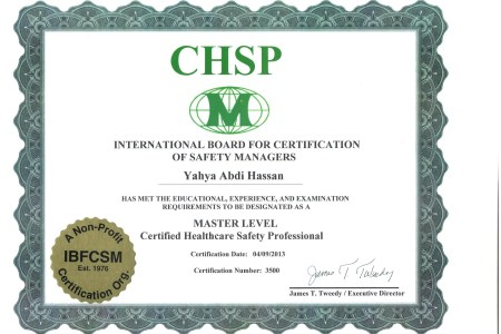 Free Resume 2018 » certified safety professional certification ...