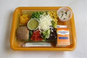 School lunches are not to be shared.