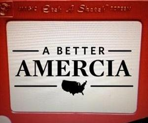 One of many images circulating Twitter abusing the Amercia gaffe.