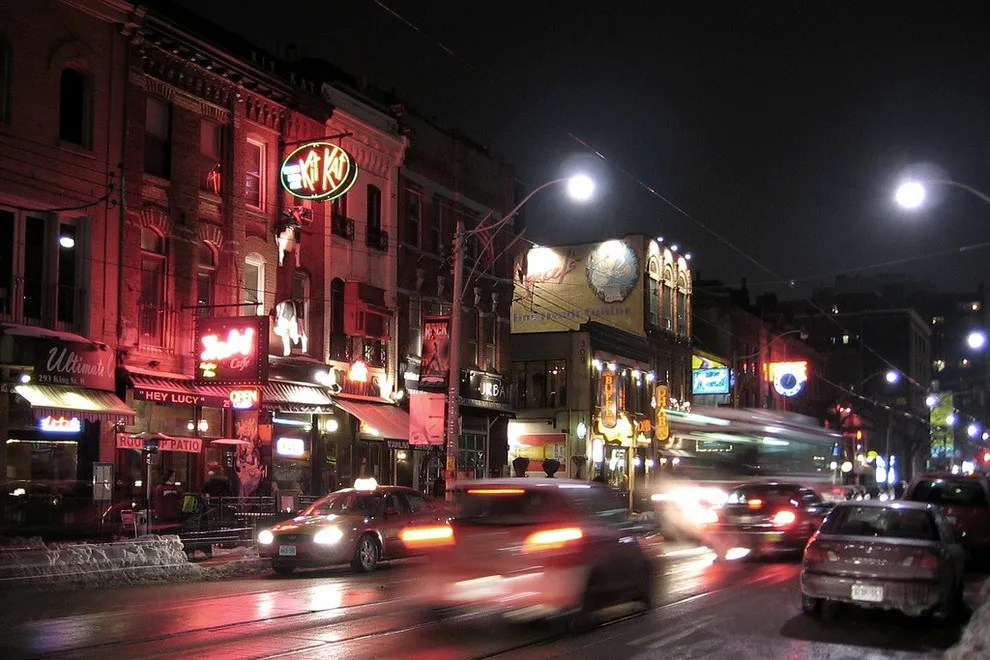 Downtown Bars And Restaurants