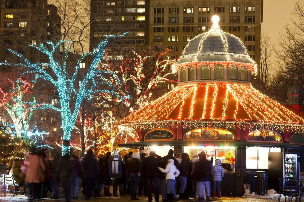 Christmas Lights Lincoln Park Zoo