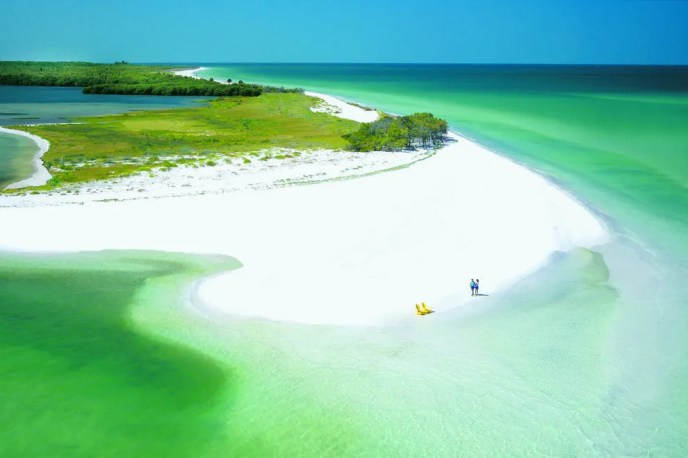 Neighboring Caladesi Island is consistently ranked among the world's most incredible beaches