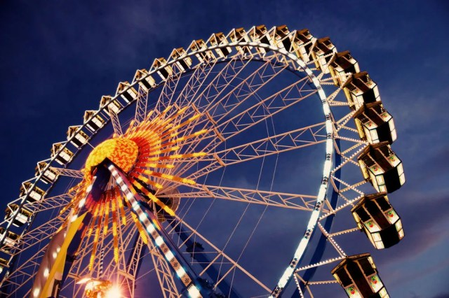 The Ferris wheel is perhaps the most iconic fair ride of them all