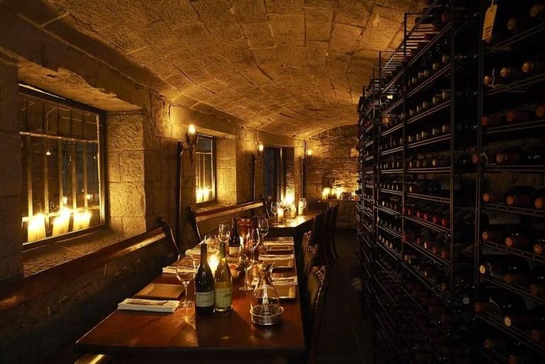 Tastings in the wine cellars