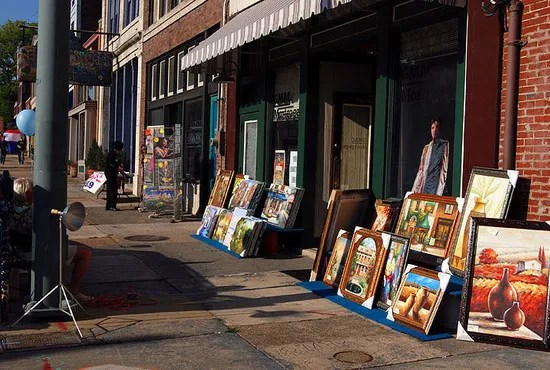 South Main Historic Arts District: Memphis Shopping Review ...