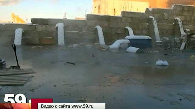 В Перми морозов не выдержал коллектор