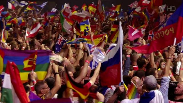 В финале конкурса'Евровидения золото у шведов серебро у России на третьем месте- Италия