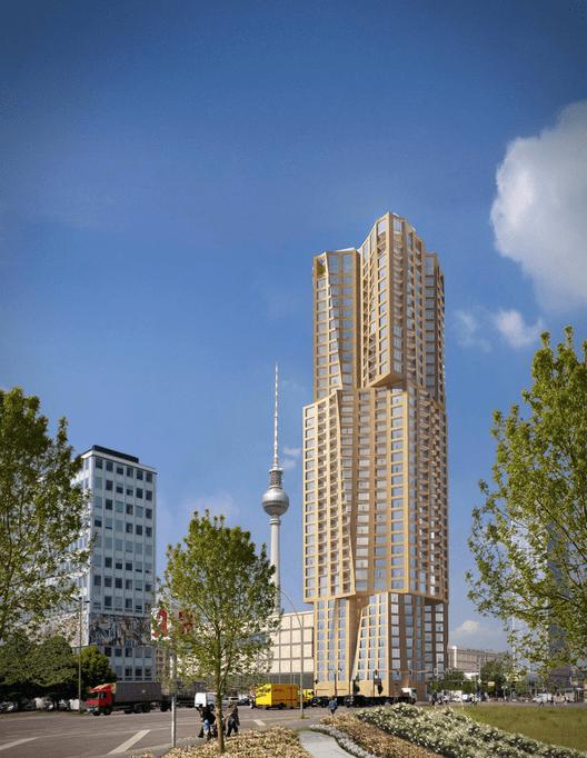 © Gehry Partners, Cortesia de Hines