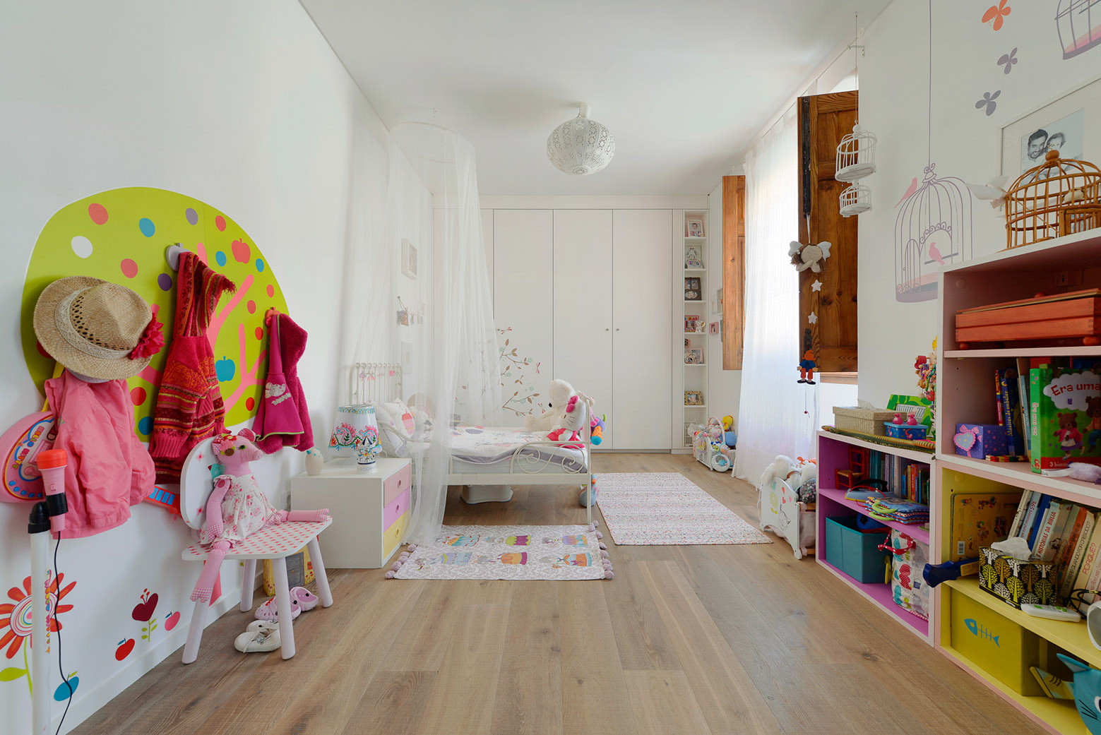 House in Estoril, Ricardo Moreno Arquitectos - Chambre d'enfant