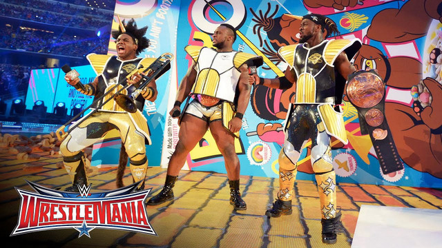 The New Day are Saiyans!