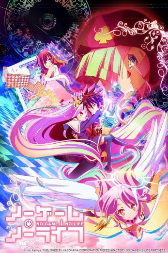 No Game No Life anime review Box art