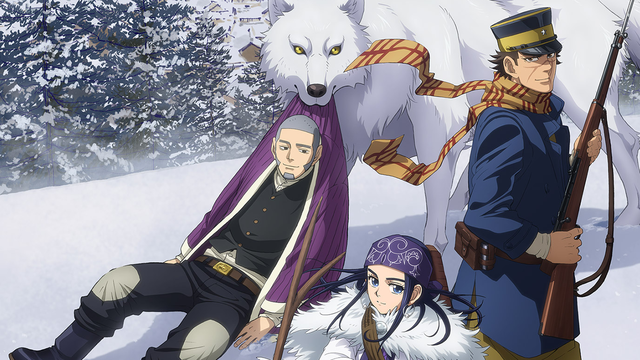 Image result for Golden Kamuy