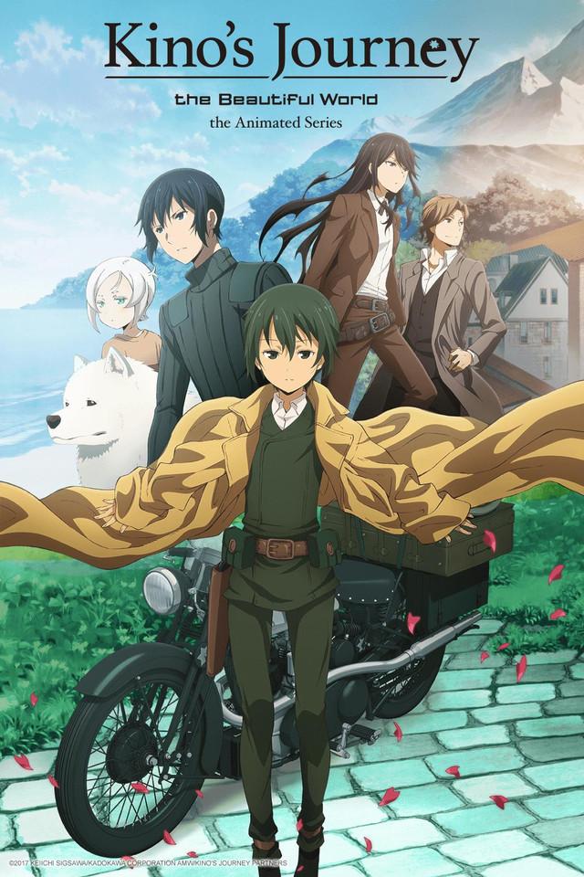 Image result for kino's journey 2017 anime