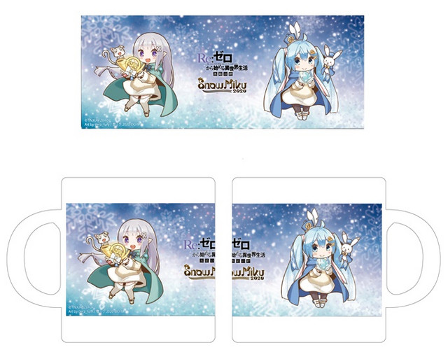 Re:Zero colabora con Snow Miku para celebrar el festival de nieve de Sapporo