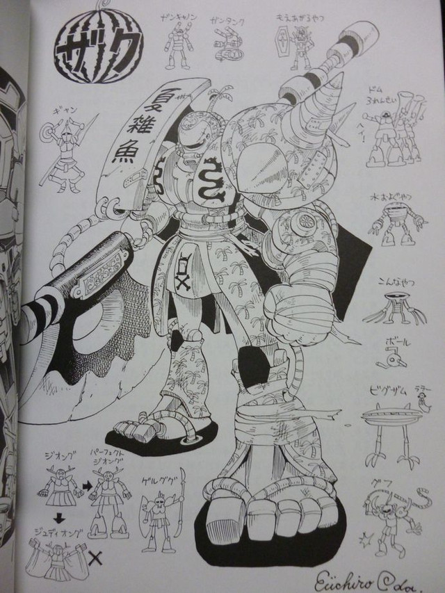 Oda-sensei Adalah Mangaka One Piece
