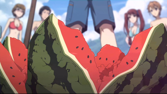 Resultado de imagem para melancia anime