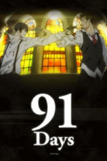 91 days anime review Box art