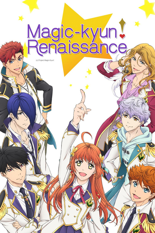 Image result for Magic-kyun Renaissance anime