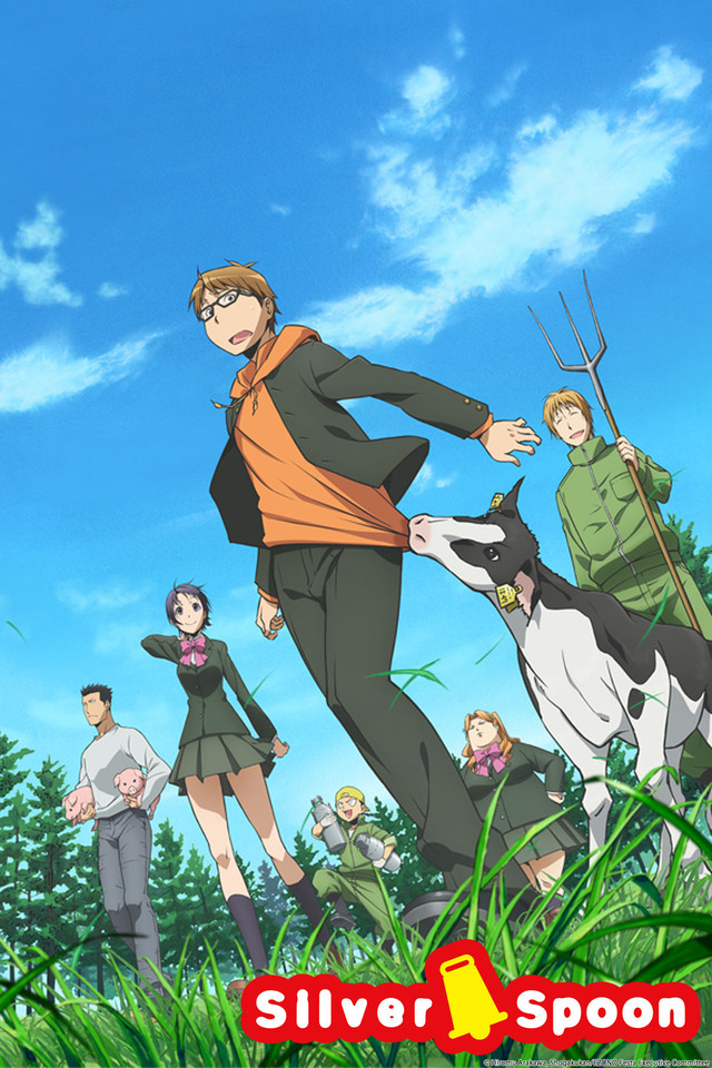Image result for silver spoon anime