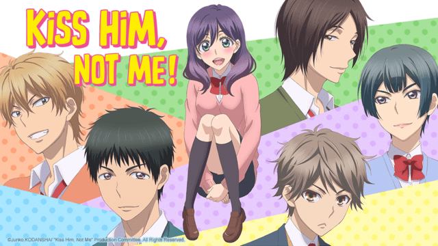 Image result for kiss him not me banner