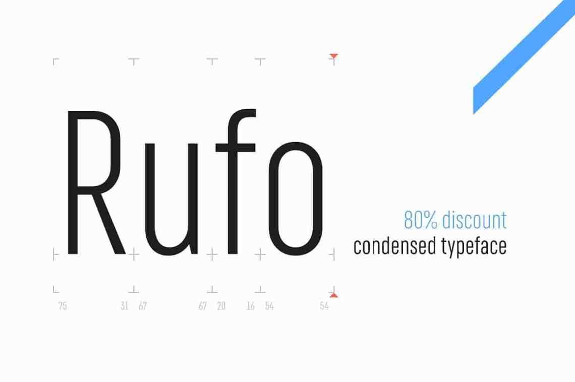 Download Rufo - Full pack font free download • AllBestFonts.com