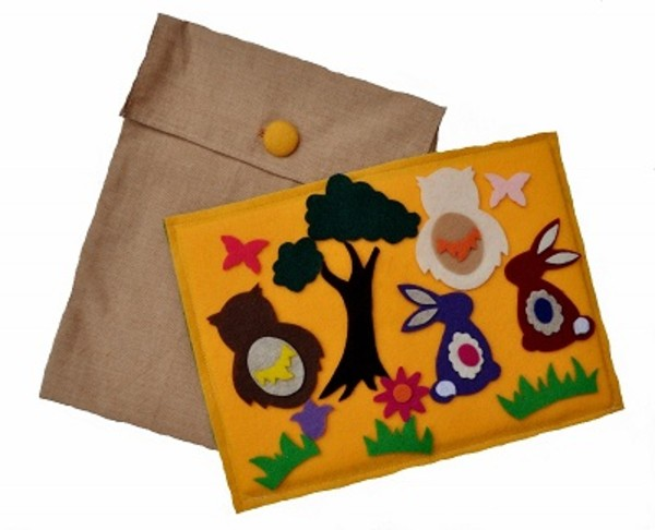 Woodland Play Felt Set