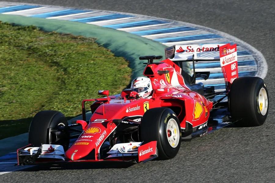 F1 Jerez Test 2015 Ergebnis Tag 1 Vettel Bestzeit Im