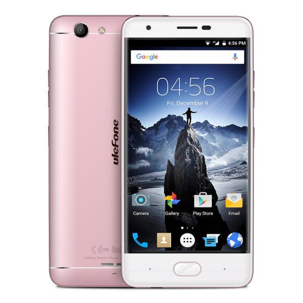 banggood Ulefone U008 Pro MTK6737 1.3GHz 4コア ROSE GOLD(ローズゴールド)