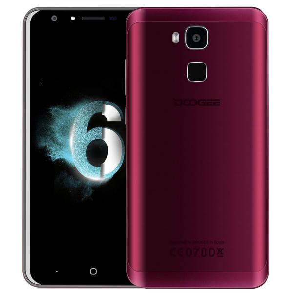 Doogee Y6 Agate Red MTK6750 1.5GHz 8コア