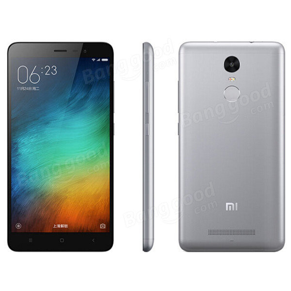 banggood Redmi Note 3 Pro Snapdragon 650 MSM8956 1.8GHz 6コア GRAY(グレー)