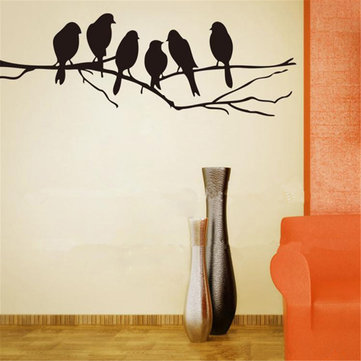 Birch Trees L And Stick Giant Wall Decals
