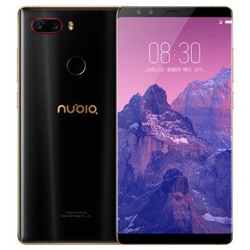 ZTE Nubia Z17S 5.73 inch 6GB RAM 64GB ROM Snapdragon 835 Octa core 4G Smartphone