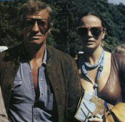 Laura Antonelli and Jean-Paul Belmondo