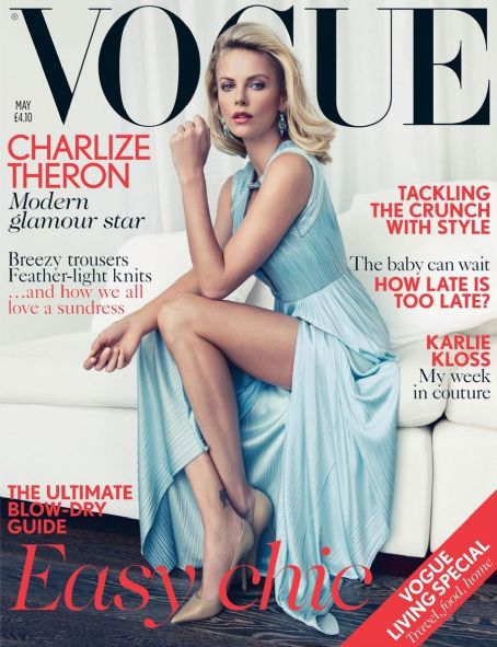 Charlize Theron - Vogue Magazine Cover [United Kingdom] (May 2012)