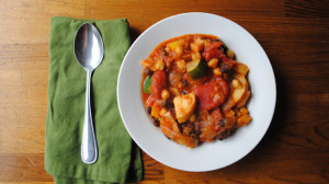 15 Easy One-Pot Meals, Chunky Vegetable Chili