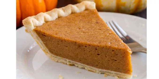 Pumpkin Pie Whole Wheat Crust Thanksgiving