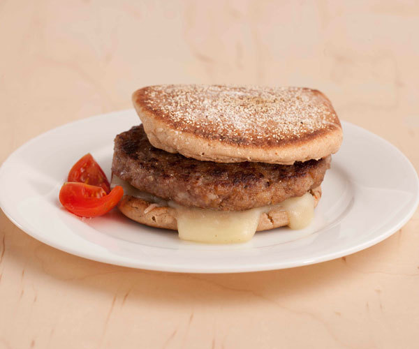 Turkey sausage muffin breakfast recipe.