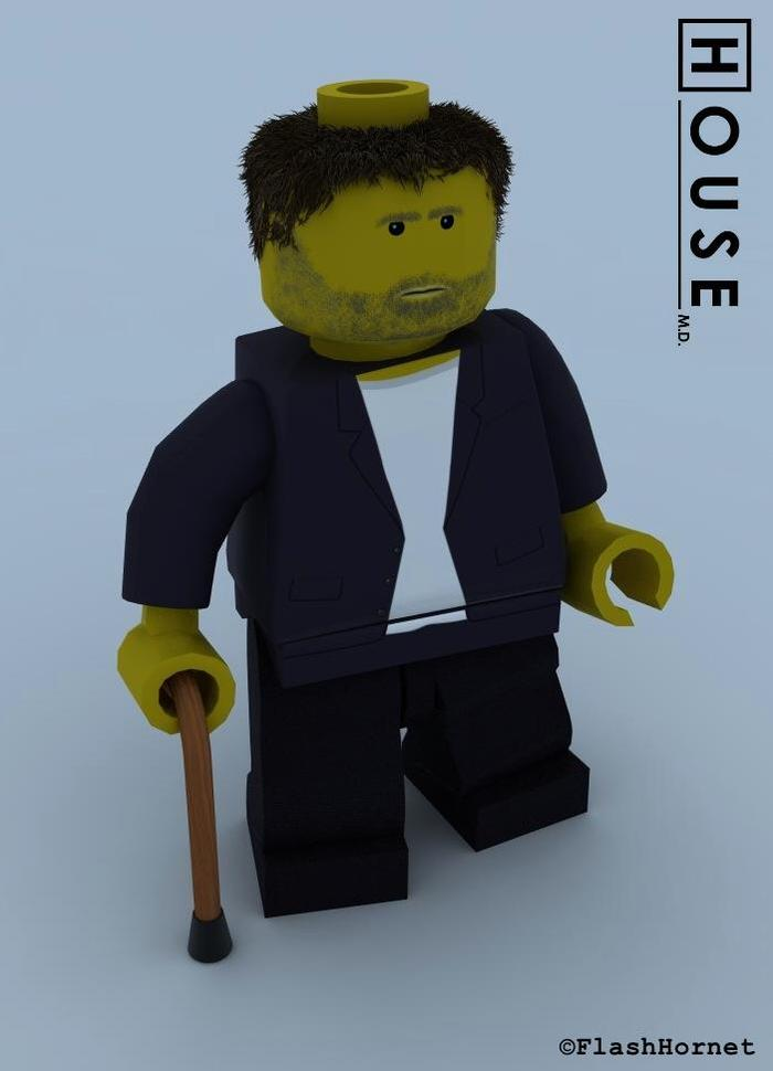 Lego Characters From Movies And Real Life Cgtrader