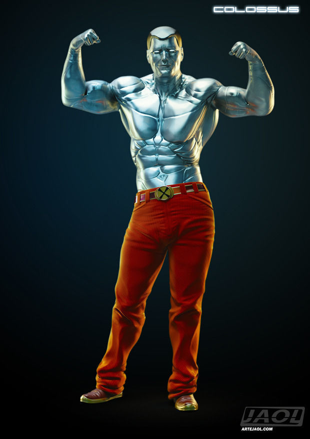 Colossus Of Marvel CGTrader