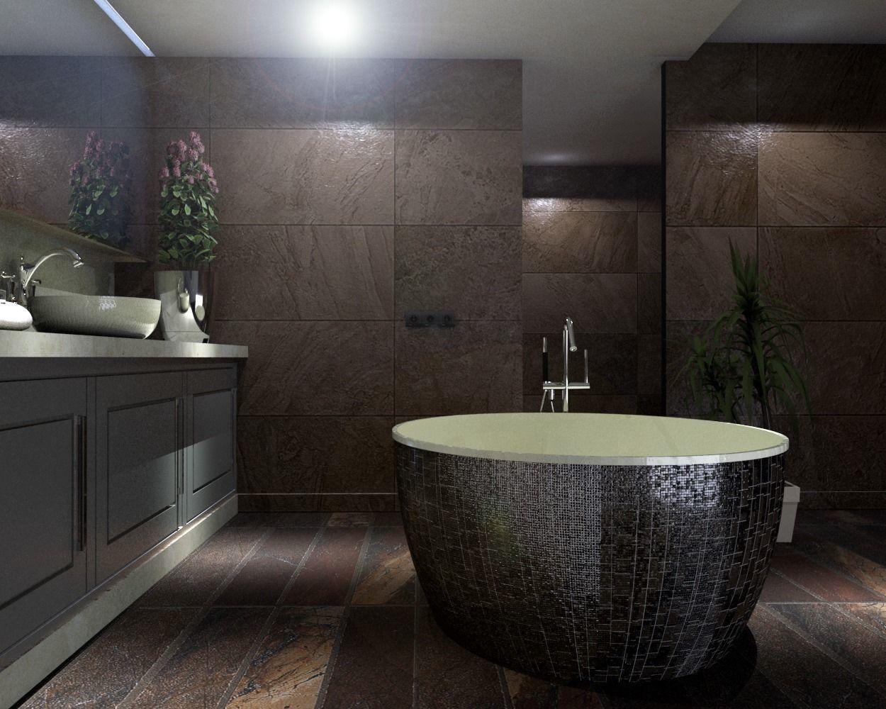 3D model fixture modern bathroom   CGTrader on Model Bathroom  id=89597