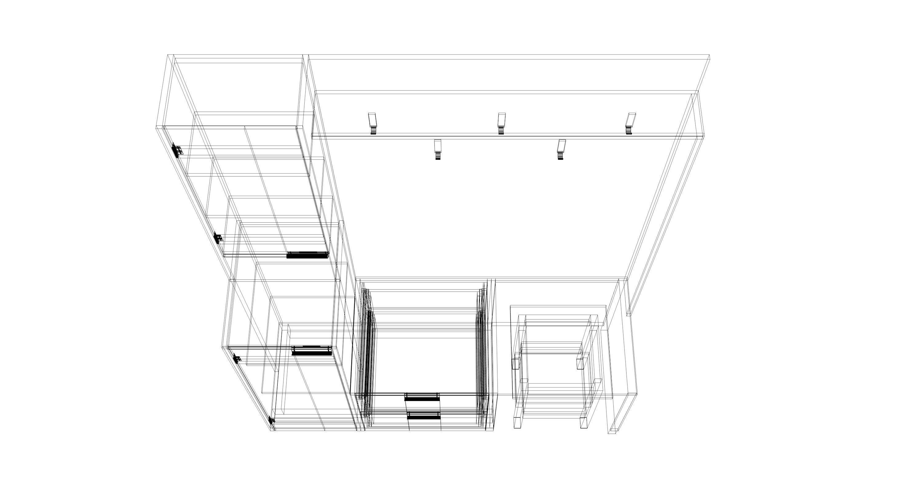 3d Hallway Drawing