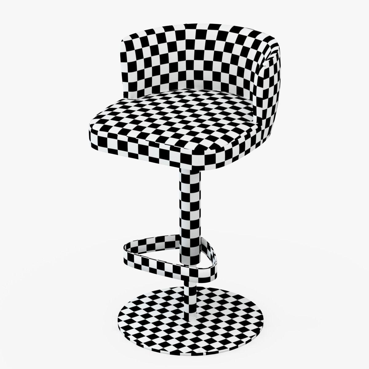 Bar Chair Kelly Longhi 3d Model Max