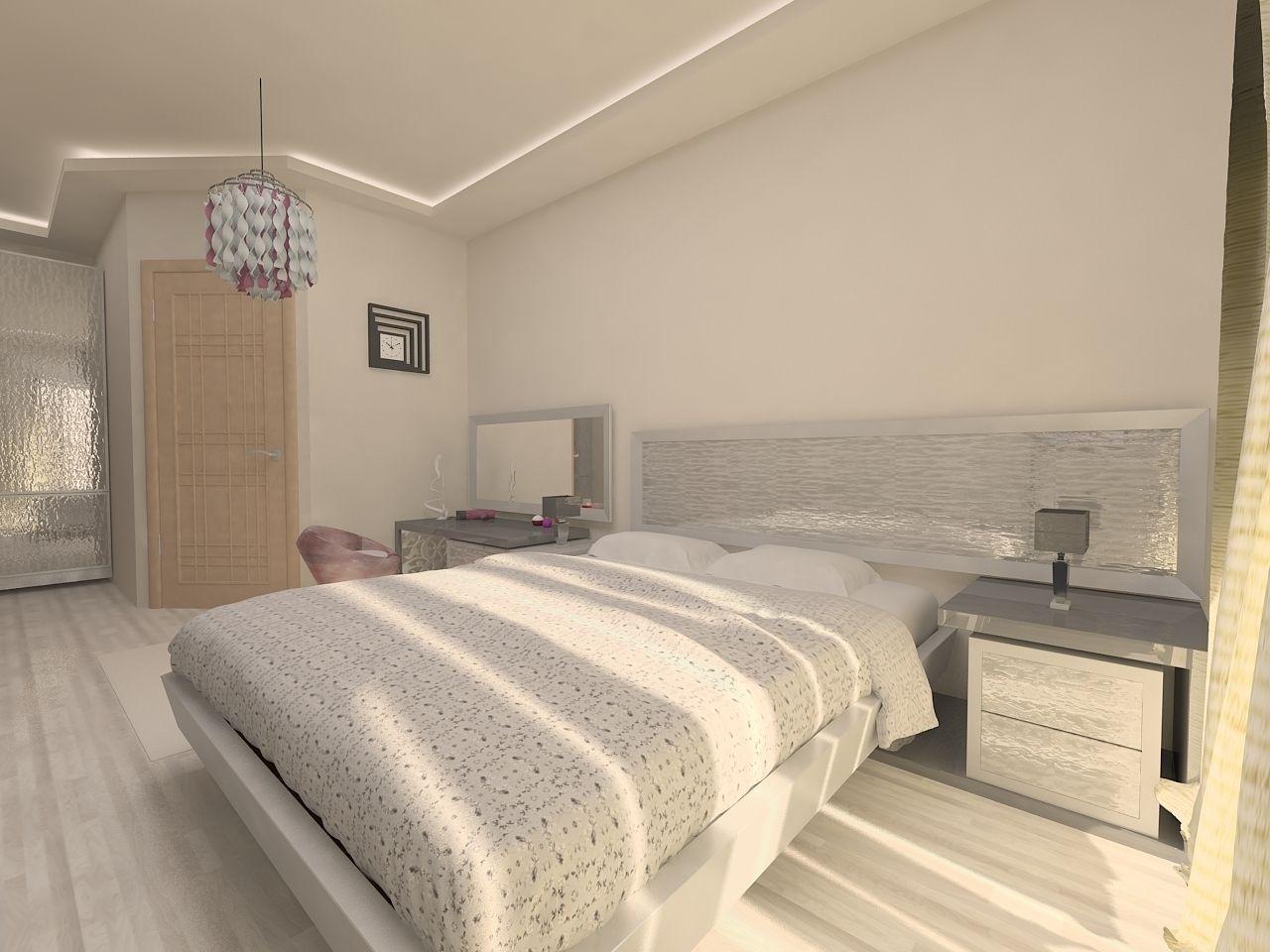 3D model Bedroom design | CGTrader on Model Bedroom Design  id=57028