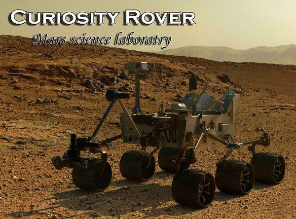 3D model CURIOSITY ROVERMARS SCIENCE LABORATORY